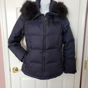 Navy Calvin Klein Size small down jacket